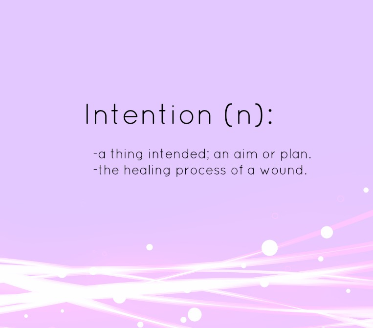 1 find your intention